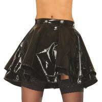 ledapol 1045 vinyl mini nederdel - lak korte nederdele fetish