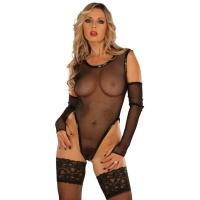 ledapol 1097 netbody - dame bodysuit - sexet lingeri