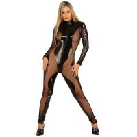 ledapol 1165 vinyl catsuit - lak overall fetish