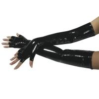 ledapol 1257 vinyl handsker - lak handsker fetish