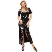 ledapol 1365 vinyl kjoler - lak lange kjoler fetish