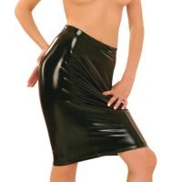 ledapol 1398 vinyl mini nederdel - lak korte nederdele fetish