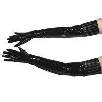 ledapol 1408 vinyl handsker - lak handsker fetish