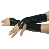 ledapol 1479 vinyl handsker - lak handsker fetish