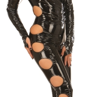 ledapol 1621 vinyl catsuit - lak overall fetish
