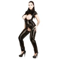 ledapol 1726 vinyl catsuit - lak overall fetish