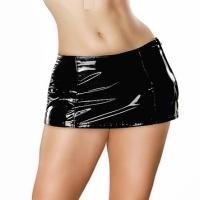 ledapol 1735 vinyl mini nederdel - lak korte nederdele fetish