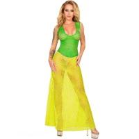 ledapol 2985 latex cocktail kjole - 3D-printet latex lang kjole