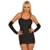 ledapol 3003 stretch kjole - stoffer mini kjoler - sexet kjole