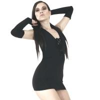 ledapol 3023 stretch kjole - stoffer mini kjoler - sexet kjole