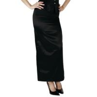 ledapol 3118 sexet stretch nederdel - stoffer dame nederdel
