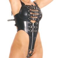 ledapol 5274 dame læder underbukser - sele body