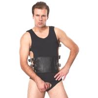 ledapol 5703 sm herre sele body læder - gay harness