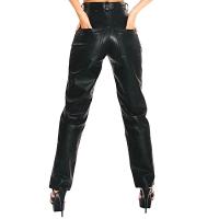 ledapol 702 læderbukser - fetish damebukser